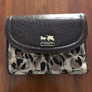 Coach Animal Print Wallet